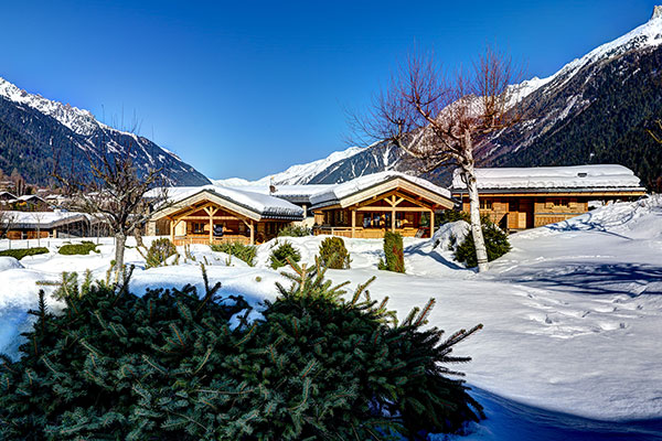 Location chalet chamonix